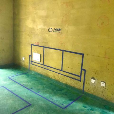宝能城三期-黄墙紫地/3D全景放样-山水装饰