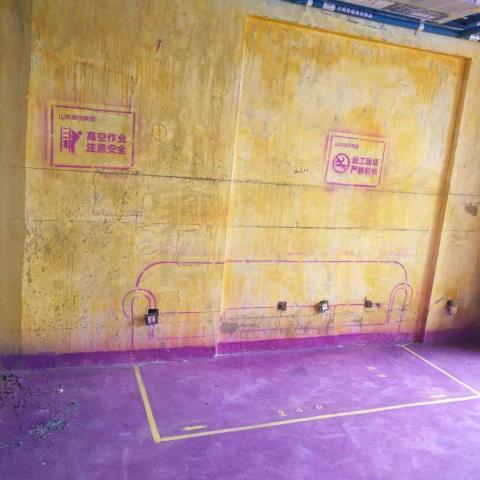 万达中心名邸-黄墙紫地/3D全景放样-山水装饰