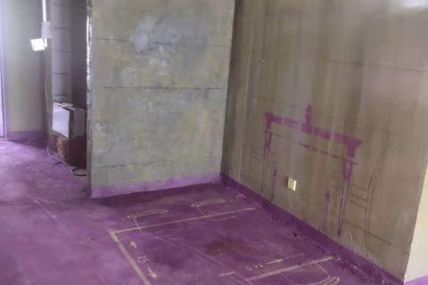新城悦隽九里-黄墙紫地/3D全景放样-山水装饰
