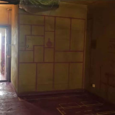 龙川里-黄墙紫地/3D全景放样-山水装饰