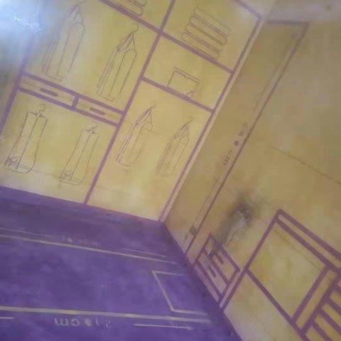 颐园世家-黄墙紫地/3D全景放样-山水装饰