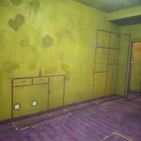 丽水家园-黄墙紫地/3D全景放样-山水装饰