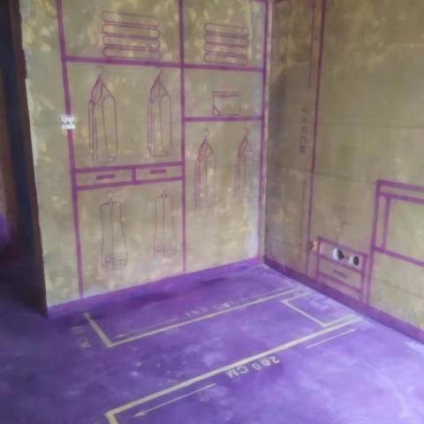 原数提香-黄墙紫地/3D全景放样-山水装饰