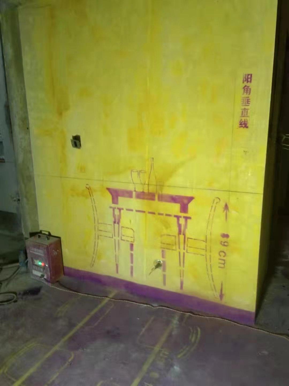 龙誉城-黄墙紫地/3D全景放样-山水装饰
