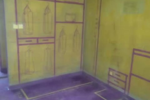 御宾府-黄墙紫地/3D全景放样-山水装饰