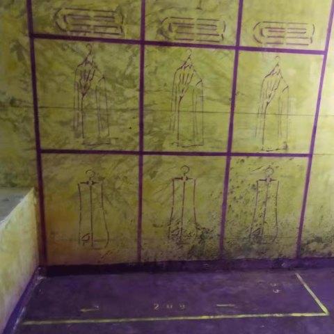万科森林公园臻园-黄墙紫地/3D全景放样-山水装饰