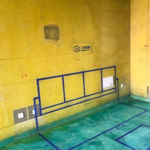滨湖宝能城三期-黄墙紫地/3D全景放样-山水装饰