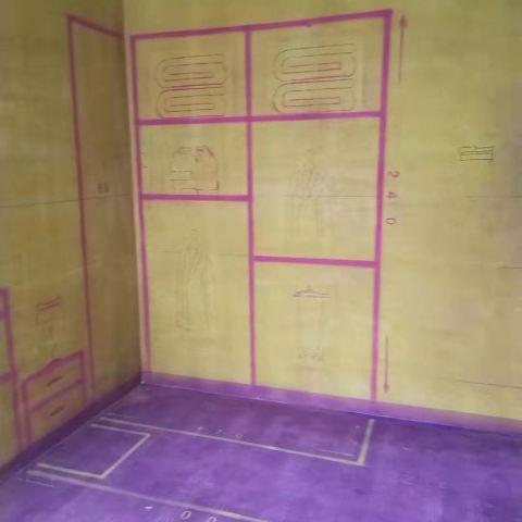 和顺叶语溪-黄墙紫地/3D全景放样-山水装饰