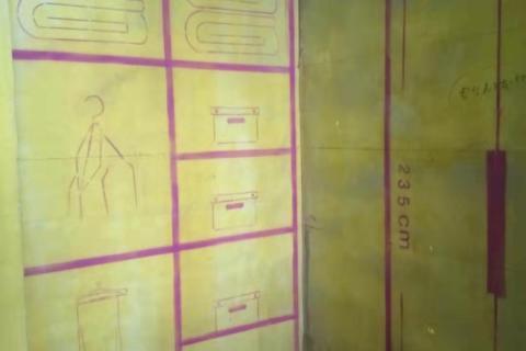 中环云公馆-黄墙紫地/3D全景放样-山水装饰