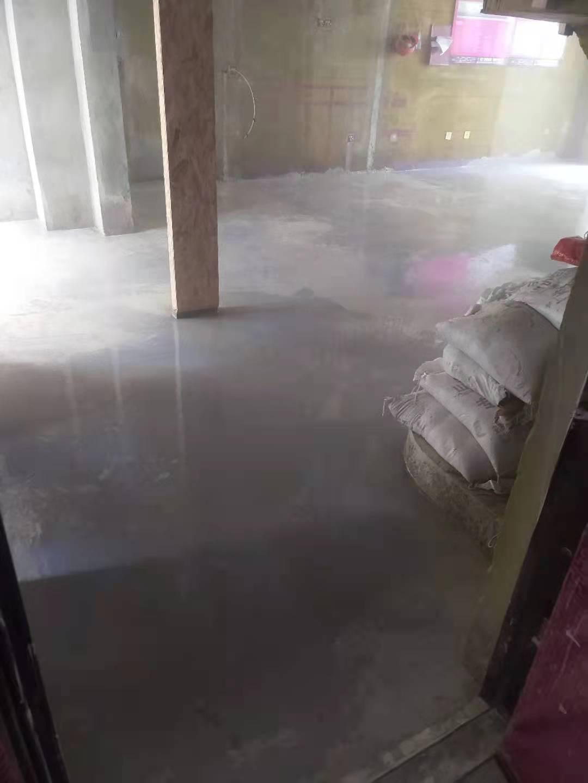 蜀山别院-厚层自流平地暖回填施工-山水装饰