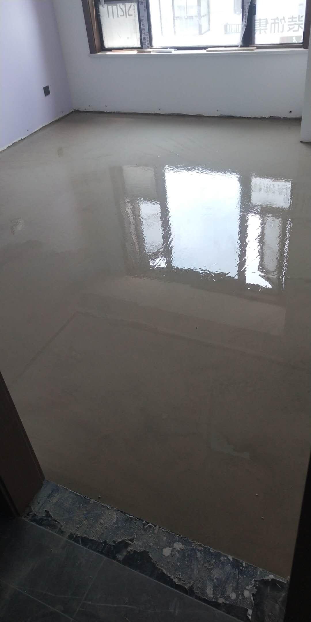 文一名门森林语-石膏基自流平木地板找平-山水装饰