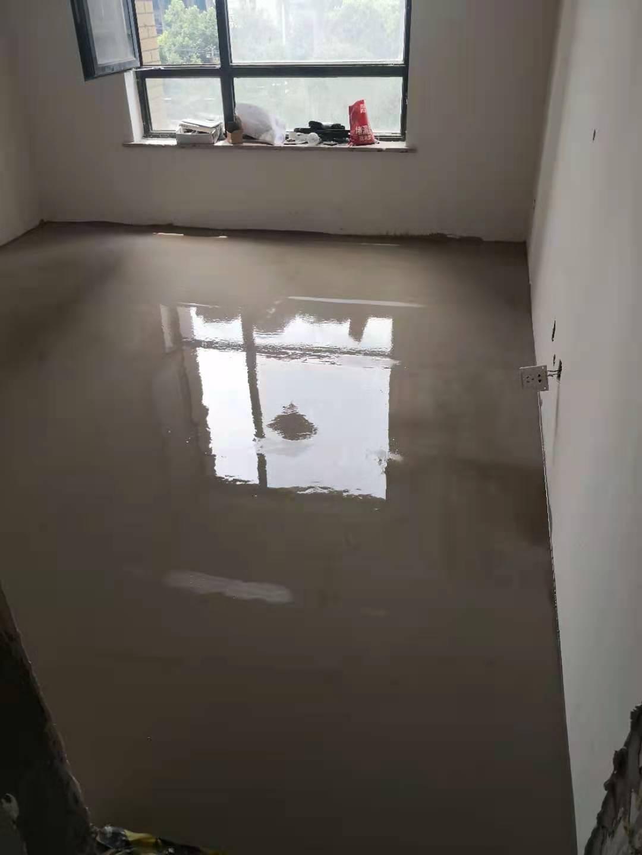 中环紫荆公馆-石膏基厚层自流平找平-叁舍空间装饰