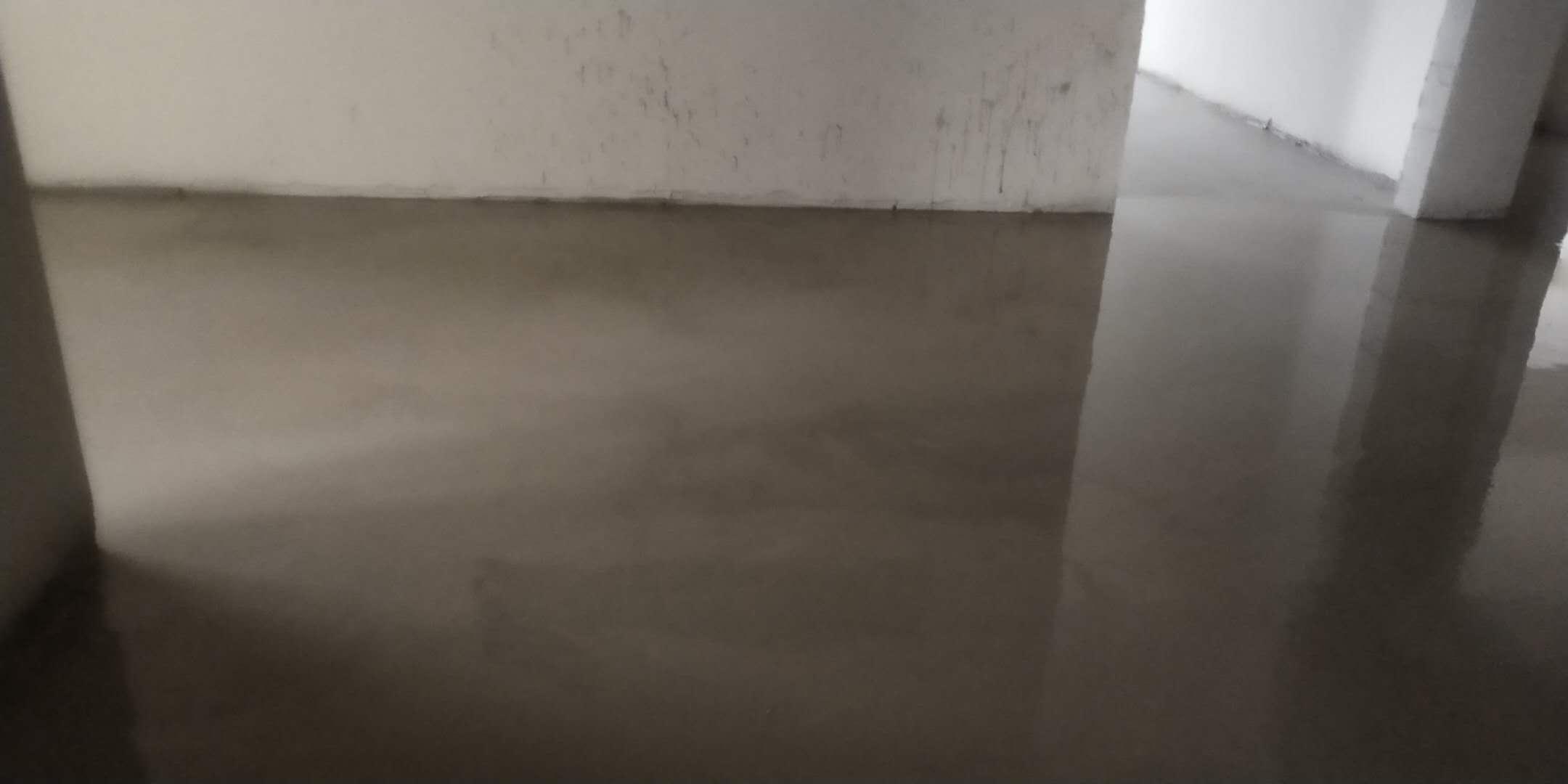 百利中心南塔-石膏基厚层自流平施工-大维装饰